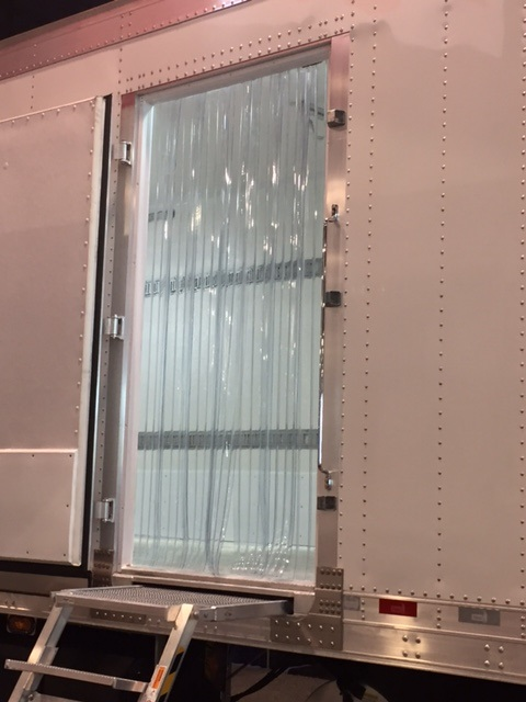 & Strip Curtains Industrial Strip Doors